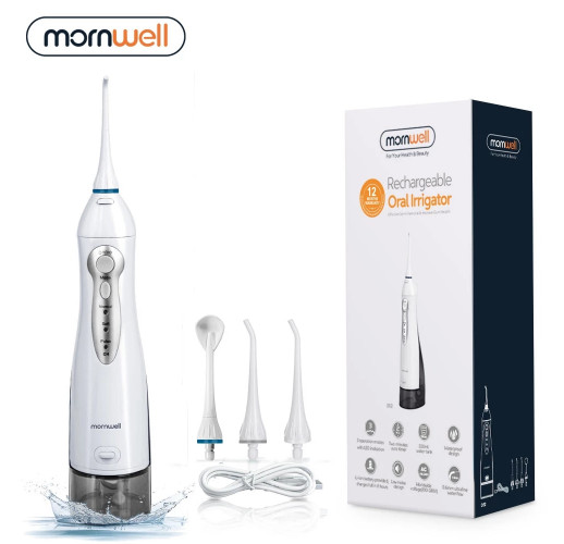 USB Rechargeable Oral Irrigator Water Flosser (with travel bag)