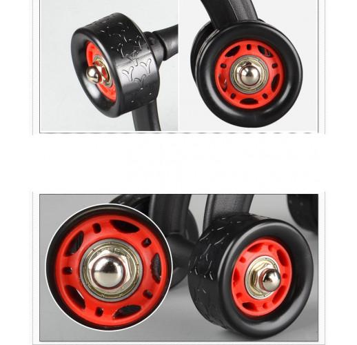 4 Wheels Power Abdominal Roller wheel