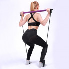 Portable Pilates Bar Kit With Resistance Band