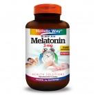 Holistic Way Melatonin 3mg (90 Tablets)