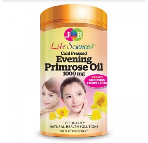 JR Life Sciences Evening Primrose Oil 1000mg (365 Softgels)